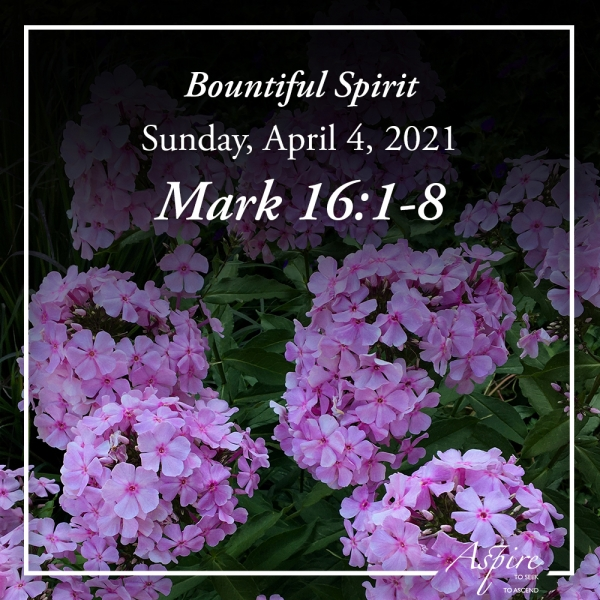 Bountiful Spirit -April 4, 2021